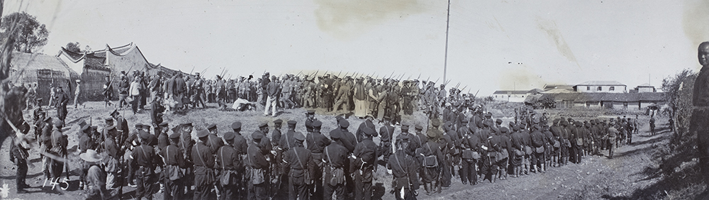 Qing soldiers joining the revolutionary army | Historical