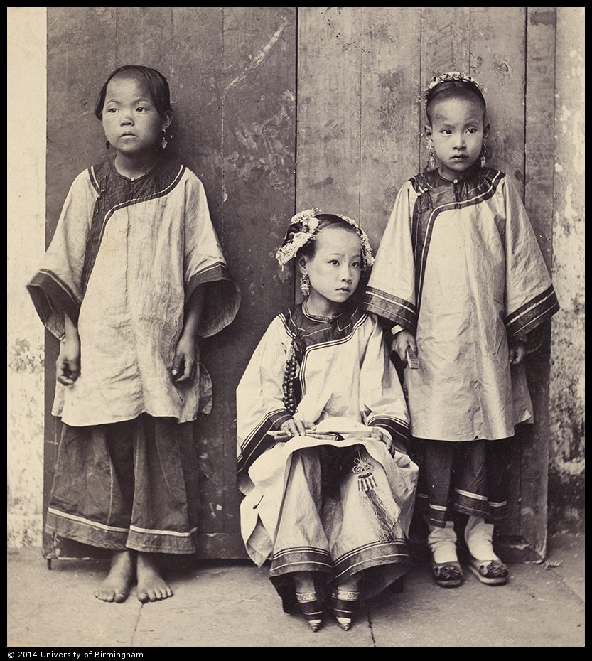The Fate And Feet Of Three Chinese Girls